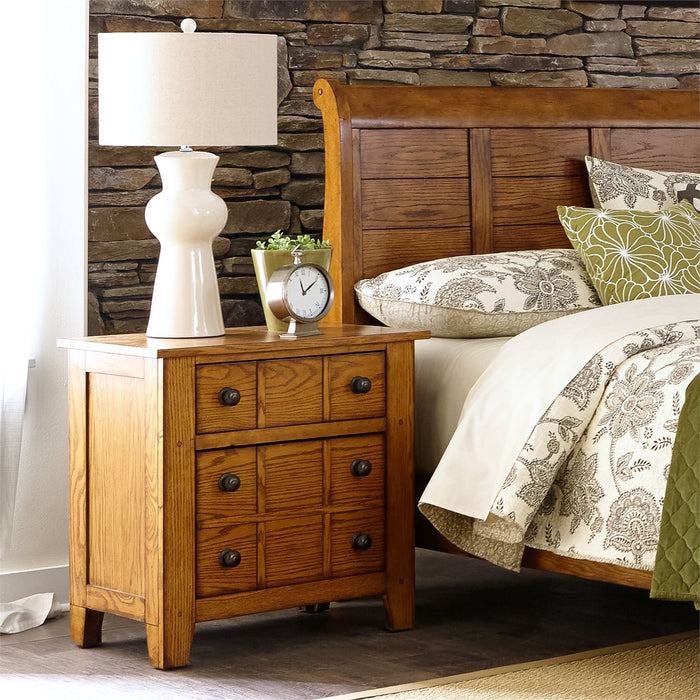Liberty Furniture | Bedroom King Sleigh 4 Piece Bedroom Set in Frederick, MD 6578