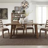 Liberty Furniture | Casual Dining Opt 5 Piece Trestle Table Sets in Charlottesville, Virginia 12129