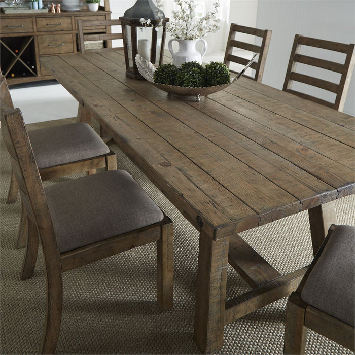 Liberty Furniture | Casual Dining Trestle Tables (96 Inch) in Lynchburg, Virginia 12089