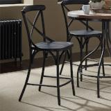 Liberty Furniture | Casual Dining X Back Counter Chairs - Black in Richmond Virginia 12330