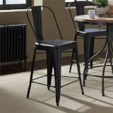 Liberty Furniture | Casual Dining Bow Back Counter Chairs - Black in Richmond Virginia 12337