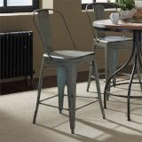 Liberty Furniture | Casual Dining Bow Back Counter Chairs - Green in Richmond,VA 12378