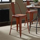 Liberty Furniture | Casual Dining Bow Back Counter Chairs - Orange in Richmond Virginia 12399