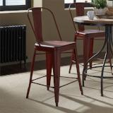 Liberty Furniture | Casual Dining Bow Back Counter Chairs - Red in Richmond Virginia 12365