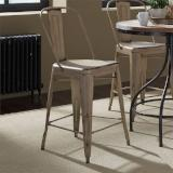 Liberty Furniture | Casual Dining Bow Back Counter Chairs - Vintage Cream in Richmond Virginia 12357