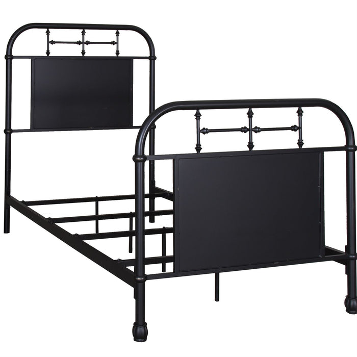 Liberty Furniture | Youth Twin Metal Bed - Black in Richmond Virginia 5302
