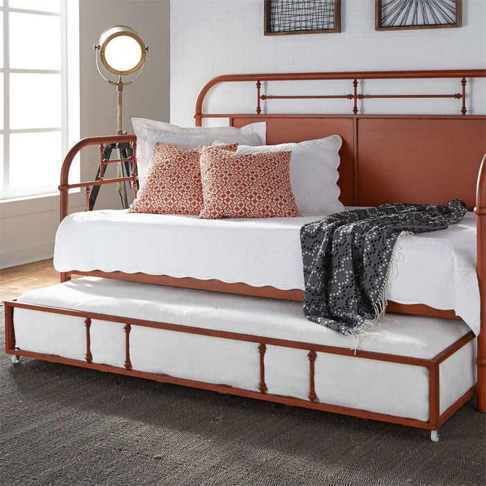 Liberty Furniture | Bedroom Twin Metal Day Bed With Trundle - Orange in Richmond,VA 6785