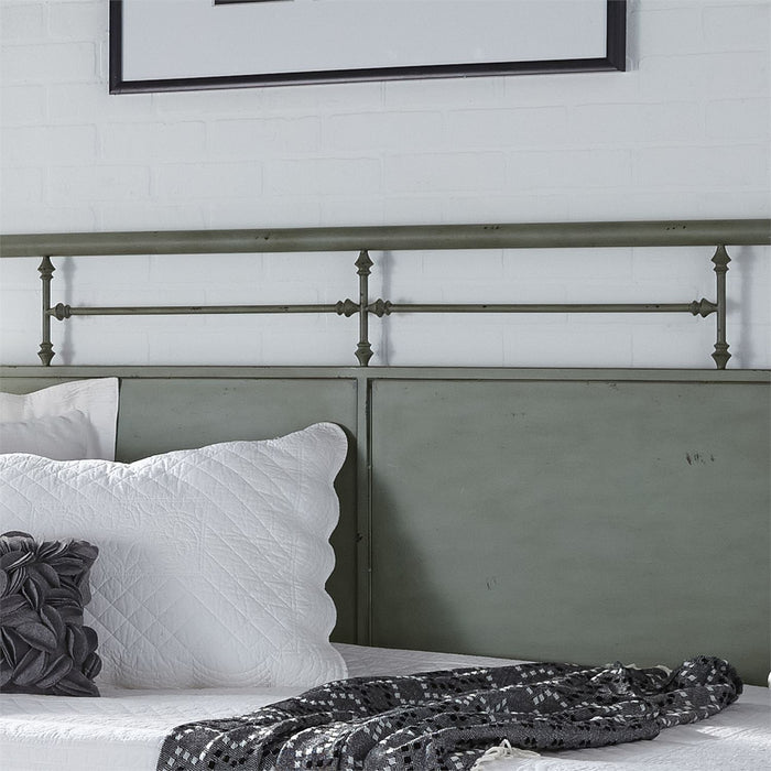 Liberty Furniture | Bedroom Twin Metal Day Bed With Trundle - Green in Lynchburg, VA 6783