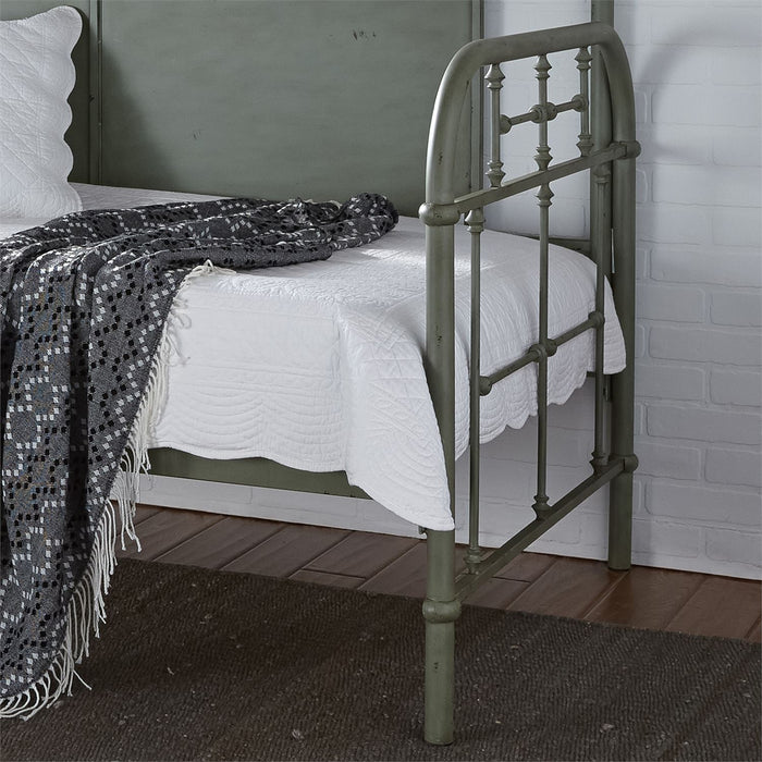 Liberty Furniture | Bedroom Twin Metal Day Bed With Trundle - Green in Lynchburg, VA 6784