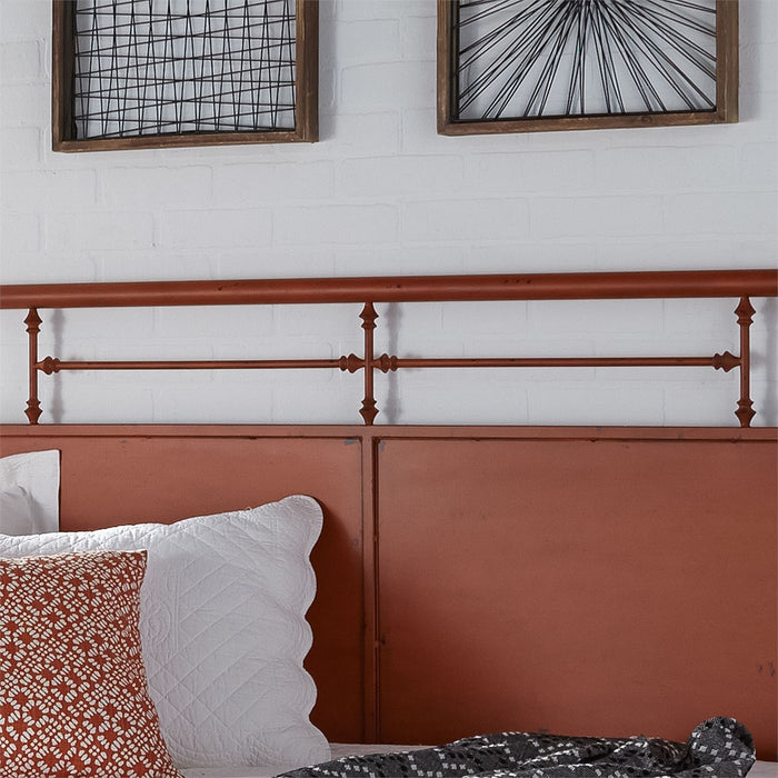 Liberty Furniture | Bedroom Twin Metal Day Bed With Trundle - Orange in Richmond,VA 6787