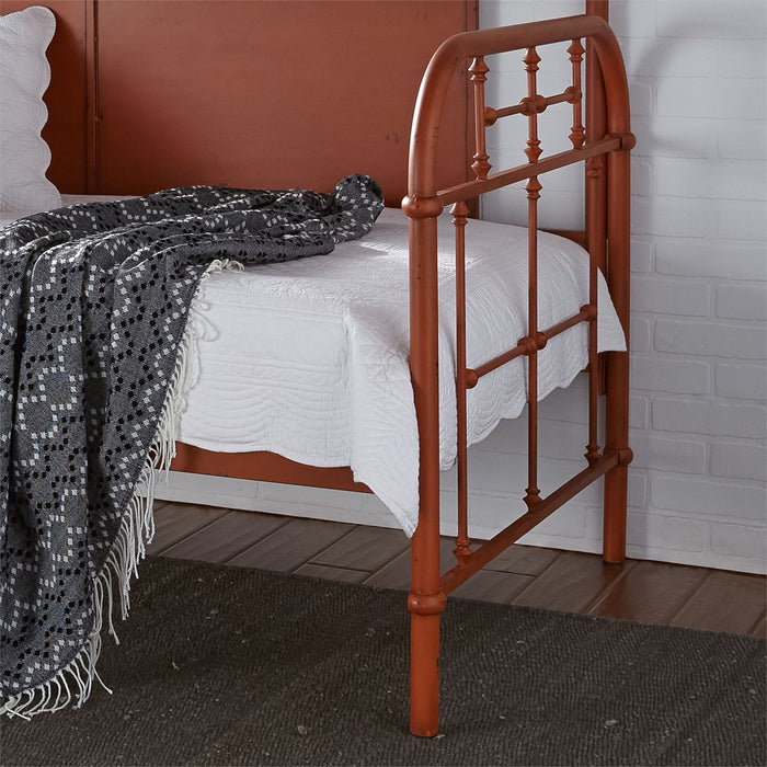 Liberty Furniture | Bedroom Twin Metal Day Bed With Trundle - Orange in Richmond,VA 6788