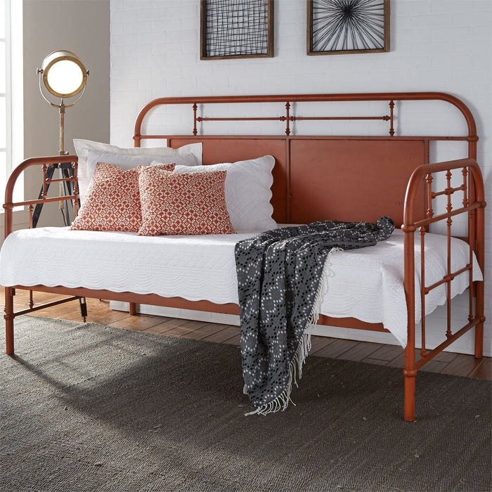 Liberty Furniture | Bedroom Twin Metal Day Bed With Trundle - Orange in Richmond,VA 6786