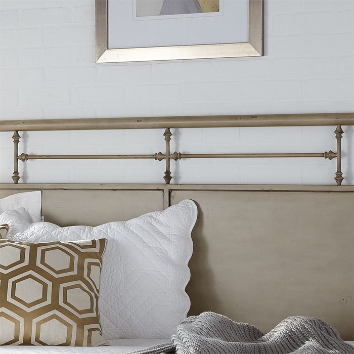 Liberty Furniture | Bedroom Twin Metal Day Bed With Trundle - Vintage Cream in Lynchburg, VA 6773