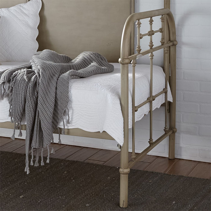 Liberty Furniture | Bedroom Twin Metal Day Bed With Trundle - Vintage Cream in Lynchburg, VA 6774