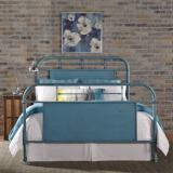 Liberty Furniture | Bedroom Queen Metal Bed - Blue in Richmond Virginia 6026