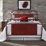 Liberty Furniture | Bedroom Queen Metal Bed - Red in Richmond Virginia 6030