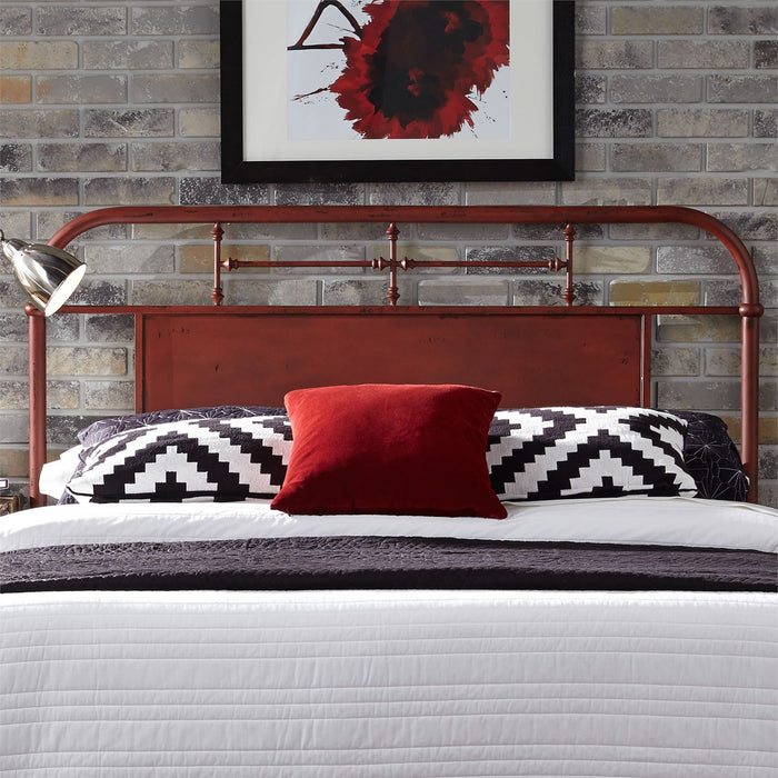 Liberty Furniture | Bedroom Queen Metal Bed - Red in Richmond Virginia 6033