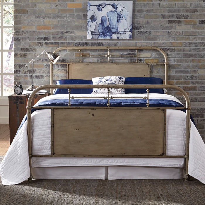 Liberty Furniture | Bedroom King Metal Bed - Vintage Cream in Winchester, Virginia 6050