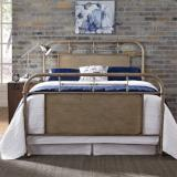 Liberty Furniture | Bedroom King Metal Bed - Vintage Cream in Winchester, Virginia 6049