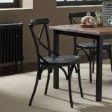 Liberty Furniture | Casual Dining X Back Side Chairs - Black in Richmond Virginia 12415
