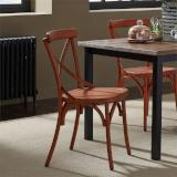 Liberty Furniture | Casual Dining X Back Side Chair - Orange in Richmond Virginia 12462