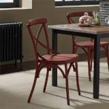 Liberty Furniture | Casual Dining X Back Side Chairs - Red in Richmond Virginia 12408