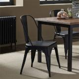 Liberty Furniture | Casual Dining Bow Back Side Chairs - Black in Richmond Virginia 12421