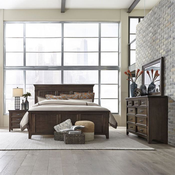 Liberty Furniture | Bedroom King Panel 4 Piece Bedroom Sets in Annapolis, Maryland 3469
