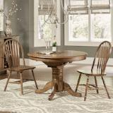 Liberty Furniture | Casual Dining 3 Piece Round Table Set in  Richmond Virginia 7907
