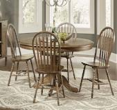 Liberty Furniture | Casual Dining 5 Piece Pedestal Table Set in Lynchburg, VA 7911