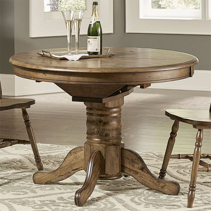 Liberty Furniture | Casual Dining Pedestal Table in Richmond Virginia 7900