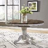 Liberty Furniture | Casual Dining Oval Pedestal Table in Richmond,VA 18885