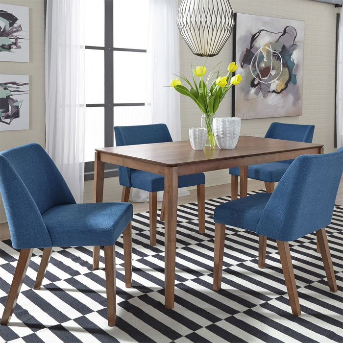 Liberty Furniture | Casual Dining 5 Piece Rectangular Table Set in Winchester, VA 4024