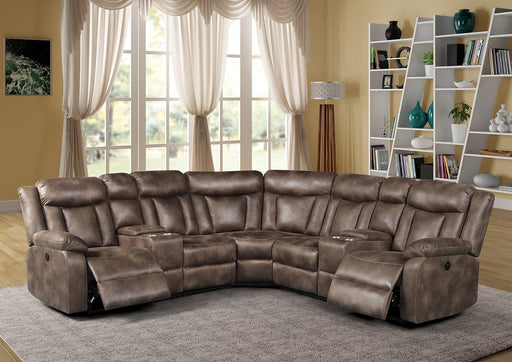 New Classic Furniture | Living Recliner Power Sectional in Pennsylvania 6157