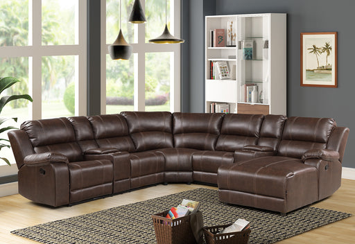 New Classic Furniture | Living Recliner Full Sectional Set in Pennsylvania 6036