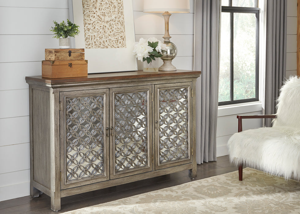 Liberty Furniture | Accents 3 Door Accent Cabinet (2012-AC5636) in Charlottesville, Virginia 638
