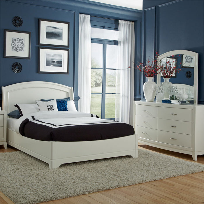 Liberty Furniture | Bedroom King Panel 4 Piece Bedroom Set in Frederick, MD 8456