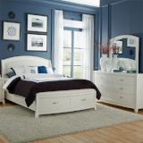 Liberty Furniture |  Bedroom King Storage 3 Piece Bedroom Set in Baltimore, MD 8484