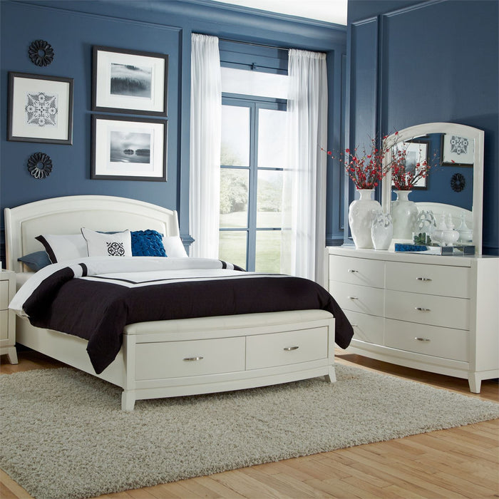 Liberty Furniture | Bedroom King Storage 5 Piece Bedroom Set in New Jersey, NJ 8527