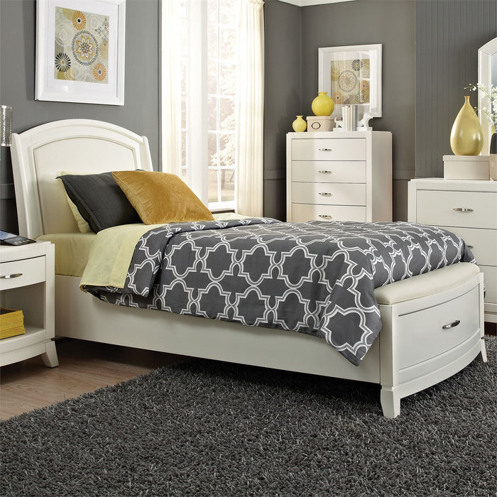 Liberty Furniture | Youth Twin Leather Storage Beds in Lynchburg, Virginia 1269