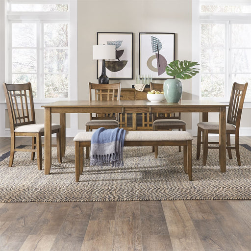 Liberty Furniture | Casual Dining 6 Piece Rectangular Table Sets in Richmond,VA 18954