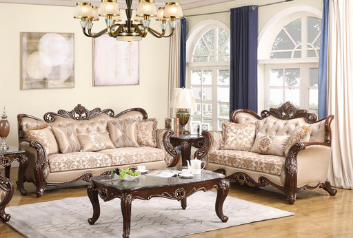 New Classic Furniture | Living 2 Piece Set in Pennsylvania 6410