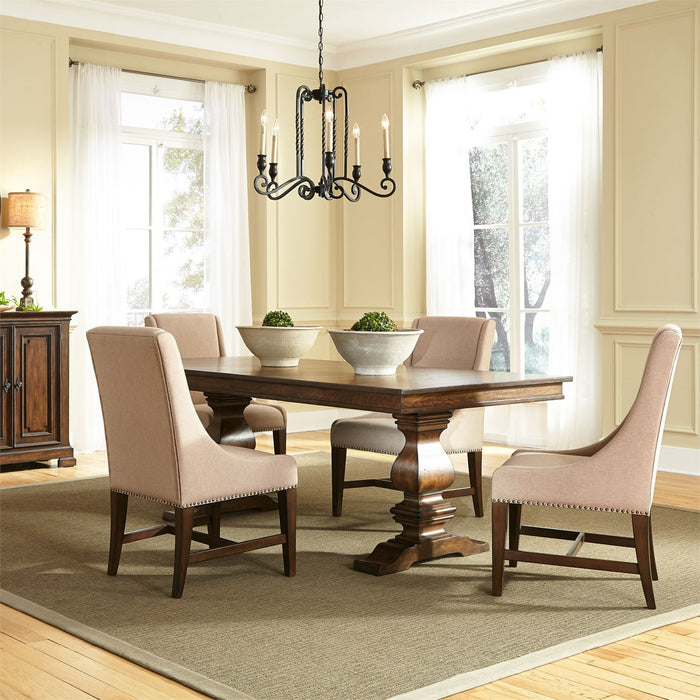Liberty Furniture | Dining 5 Piece Trestle Table Sets in Baltimore, Maryland 10301