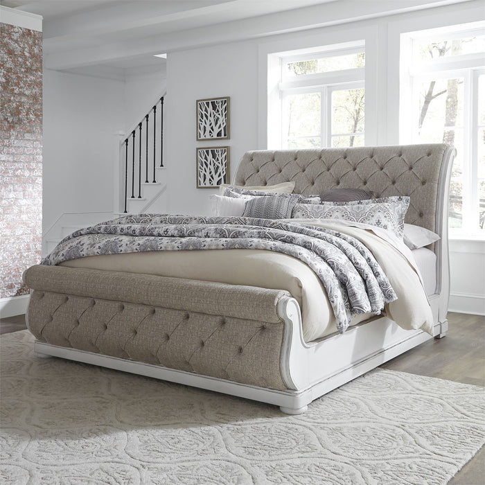 Liberty Furniture | Bedroom King Uph Sleigh 5 Piece Bedroom Set in Pennsylvania 5879