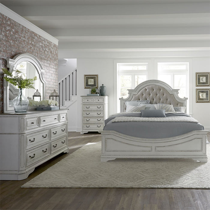 Liberty Furniture | Bedroom Queen Uph 4 Piece Bedroom Set in Pennsylvania 5856