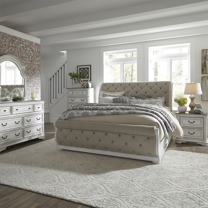 Liberty Furniture | Bedroom King Uph Sleigh 5 Piece Bedroom Set in Pennsylvania 5878