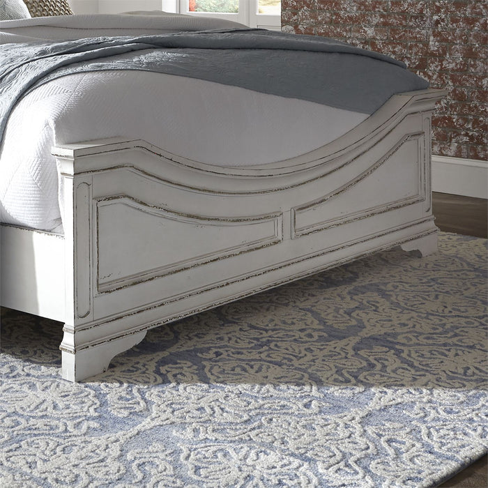 Magnolia Manor (244-BR) Bedroom Queen Upholstered Bed