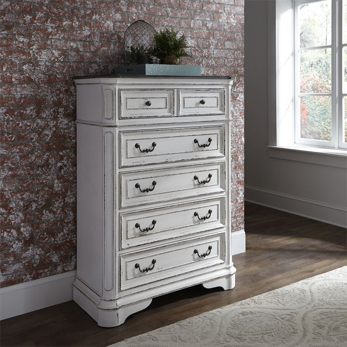 Liberty Furniture | Bedroom King Uph Sleigh 5 Piece Bedroom Set in Pennsylvania 5883