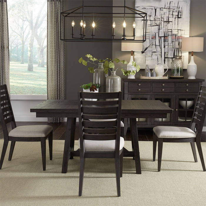 Liberty Furniture | Casual Dining 5 Piece Trestle Table Set in Frederick, Maryland 3798