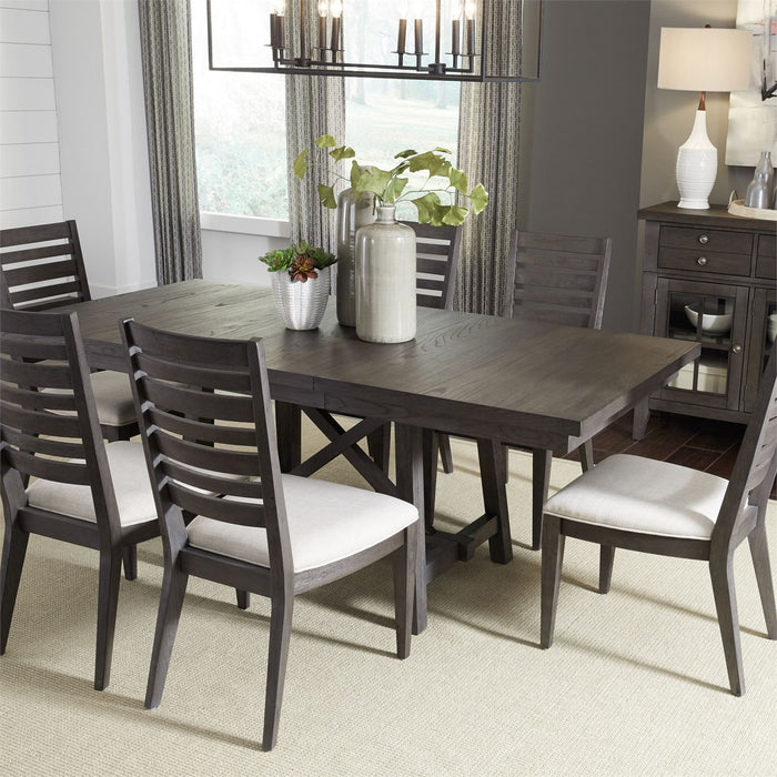 Liberty Furniture | Casual Dining 7 Piece Trestle Table Set in Annapolis, Maryland 3802